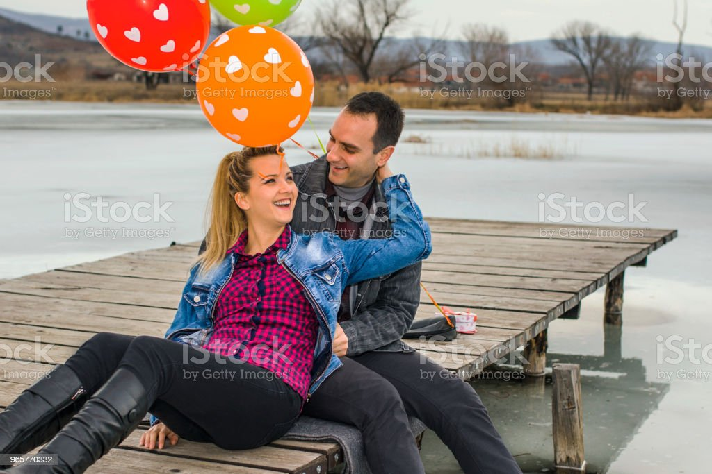 Valentines day - Royalty-free 20-29 Years Stock Photo
