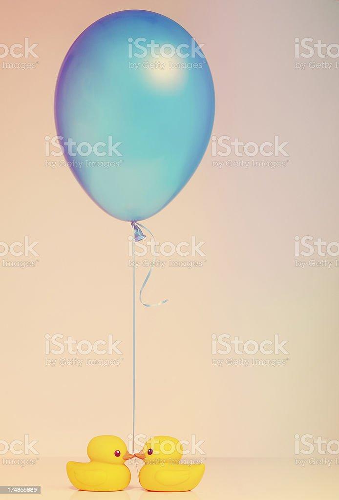 Valentine's Day present - Balloon royalty-free stock photo