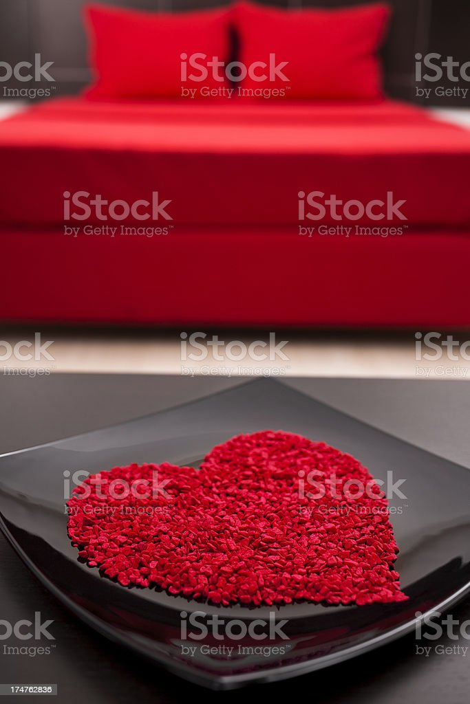 Valentine's Day present - Heart royalty-free stock photo