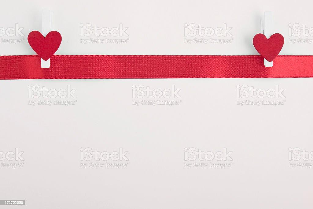 Valentine's Day present stock photo