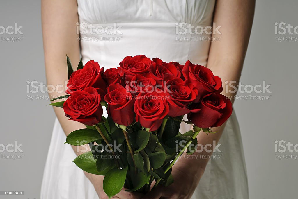 Valentine's Day Roses stock photo