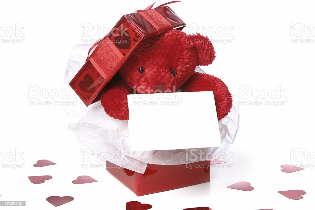 Valentine's Day Series (on white ) royalty-free stock photo