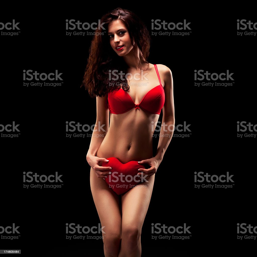 Valentine's Day Surprise royalty-free stock photo