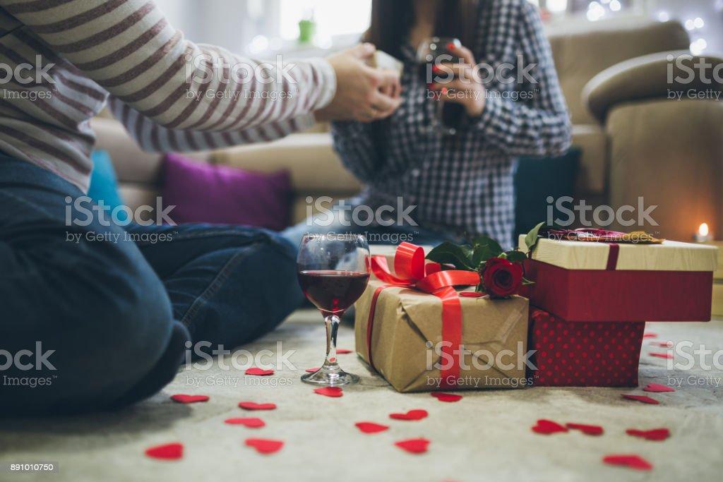 Valentinstag-Überraschung – Foto