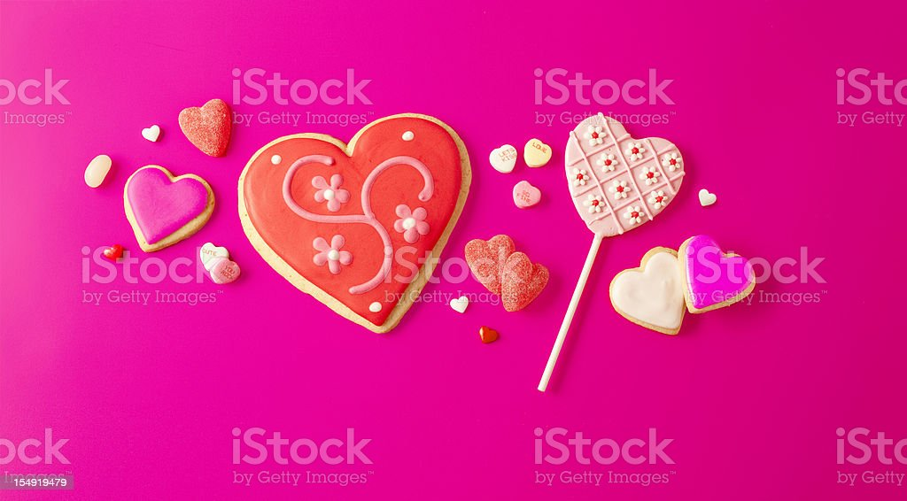 Valentine's Day Sweets royalty-free stock photo