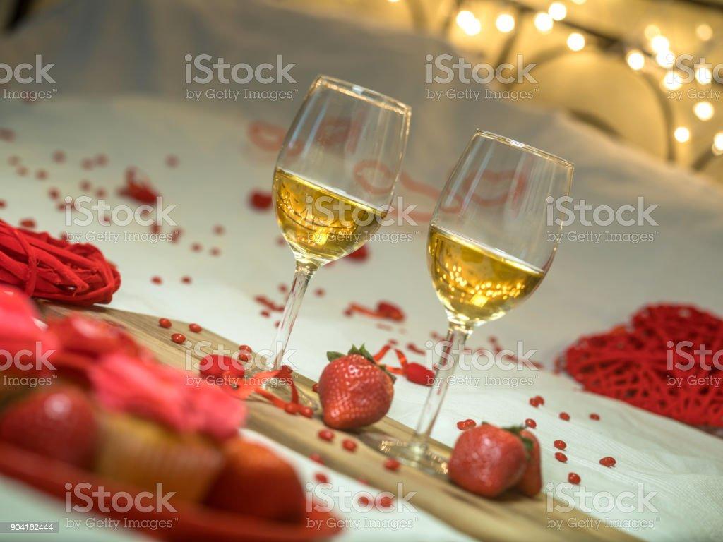 Valentine's Day sweets stock photo