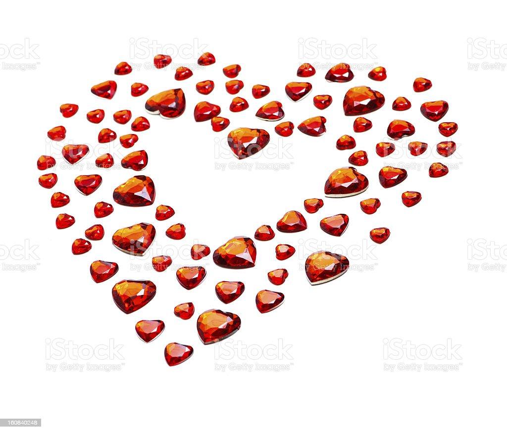 Valentine's day symbol royalty-free stock photo