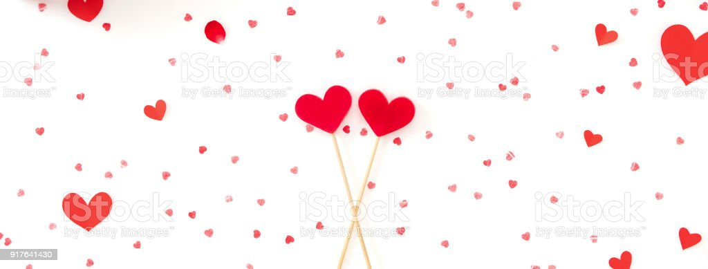 Valentines Day Wedding And Love Banner Background Stock Photo Download Image Now Istock