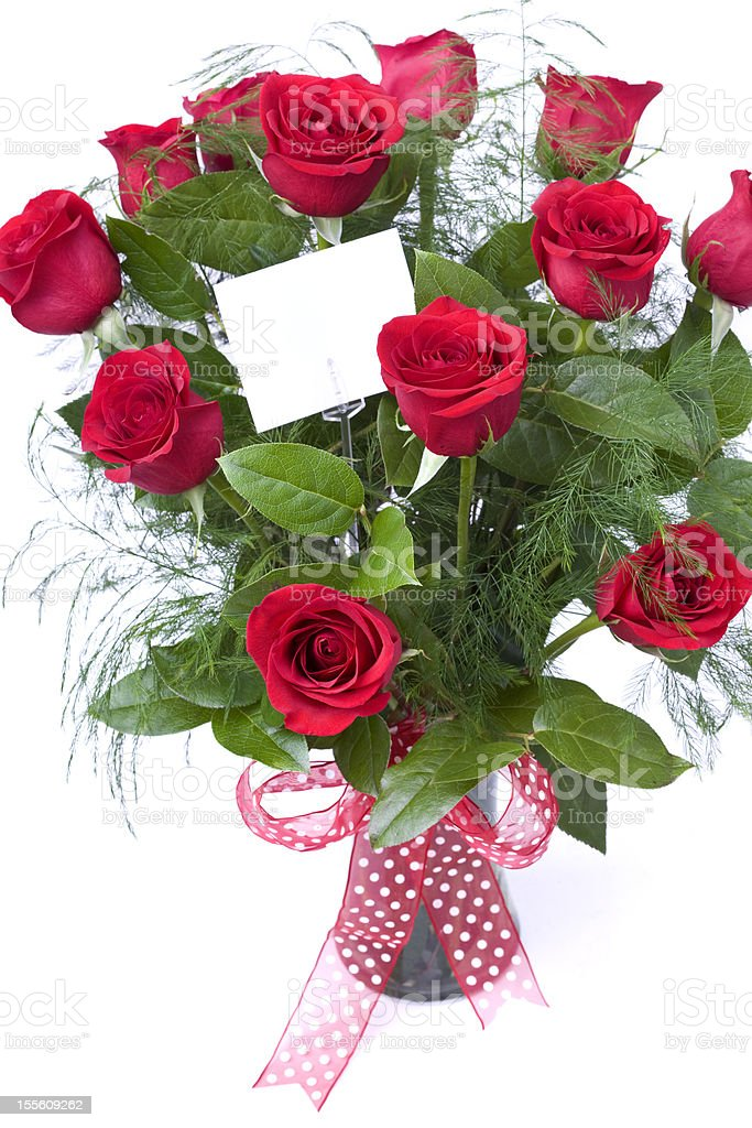 Valentine's Day Wishes stock photo