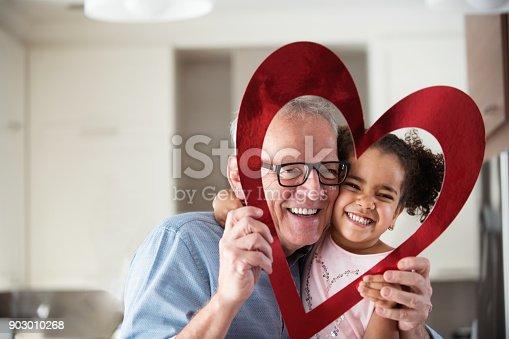 istock Valentine's Day with multi-ethnic family 903010268