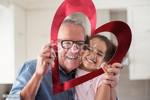 istock Valentine's Day with multi-ethnic family 903010542