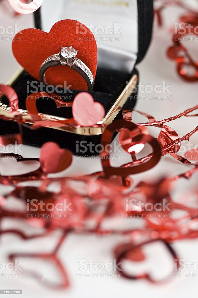 Valentine's Engagement royalty-free stock photo
