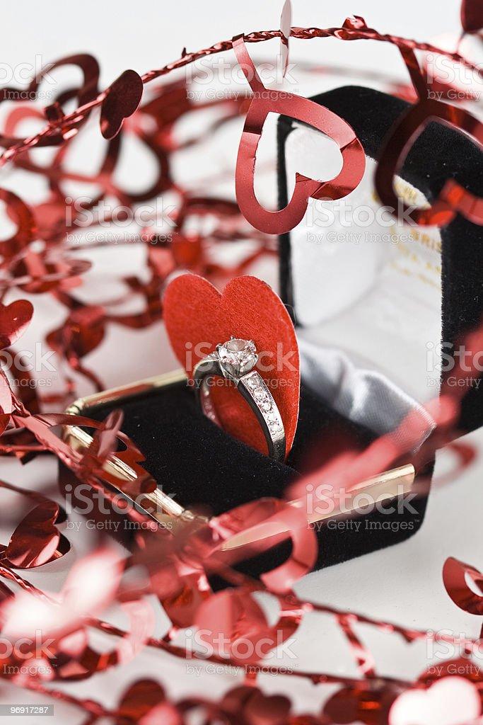 Valentine's Engagement royalty-free stock photo