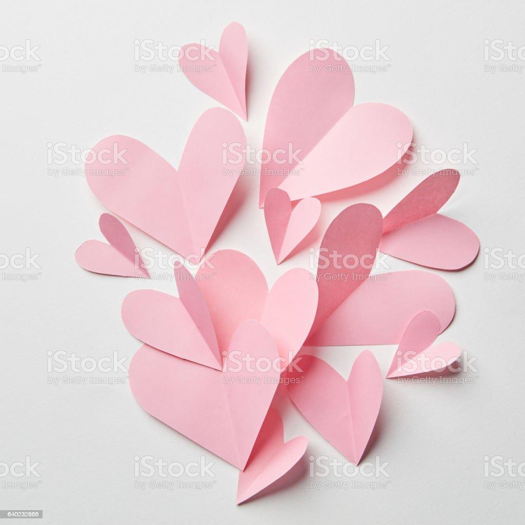 Fondo de corazones de San Valentín - foto de stock