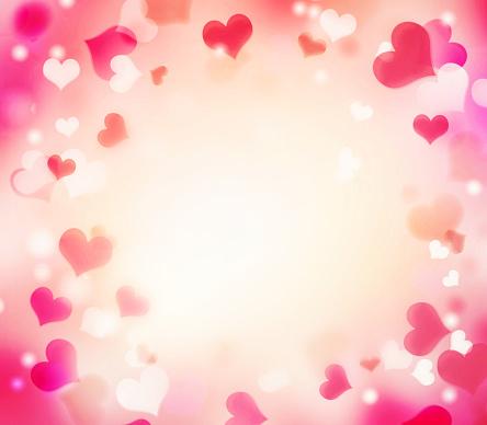 896306118 istock photo Valentine's holiday frame background.Empty copy space. 900941950