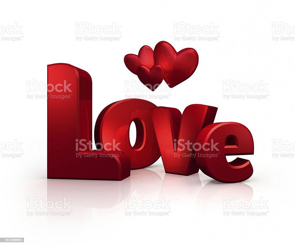 Valentine's Love (XXXL) royalty-free stock photo
