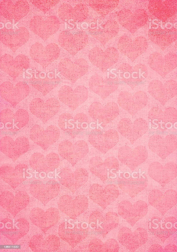 Valentines Old Paper Texture stock photo