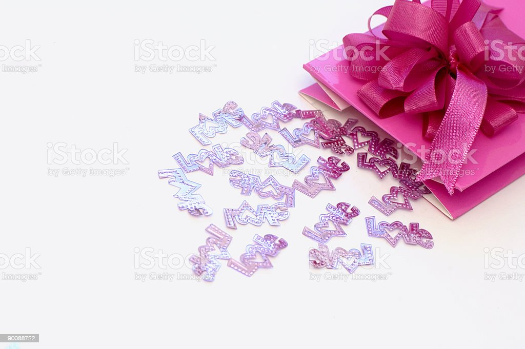 Valentine's Present royalty-free stock photo