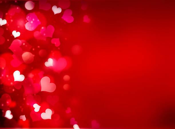 walentynki s czerwony jasnym tle z puste miejsce na tekst. - holiday background zdjęcia i obrazy z banku zdjęć