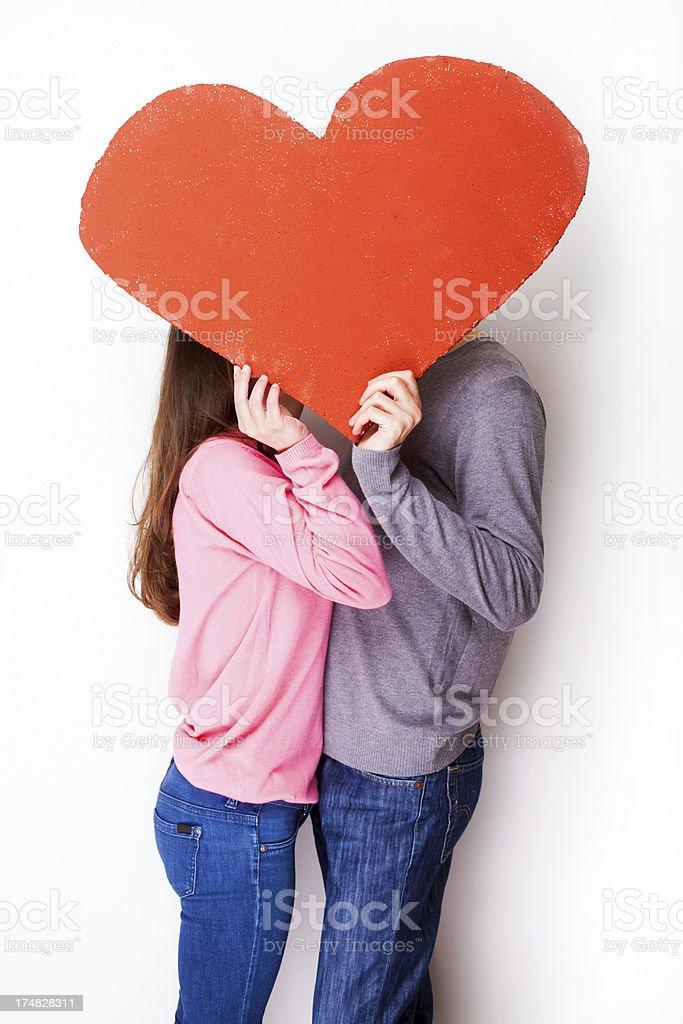 Valentine's romance royalty-free stock photo