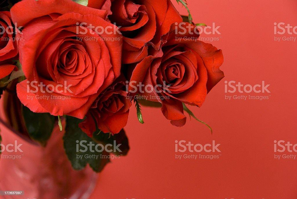 Valentines Vase royalty-free stock photo