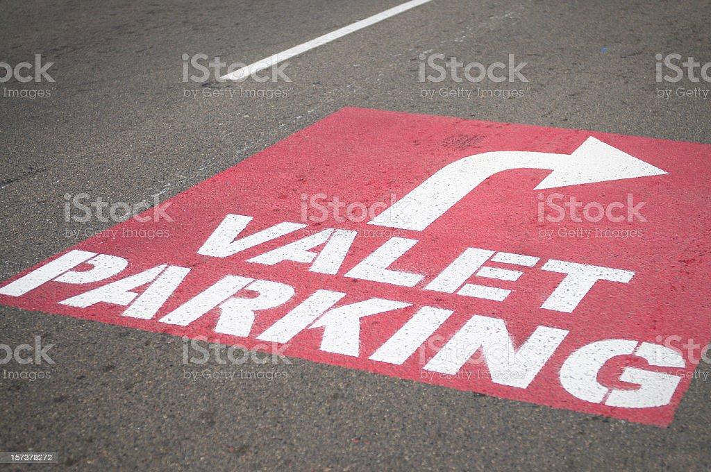Valet Parking royalty-free stock photo