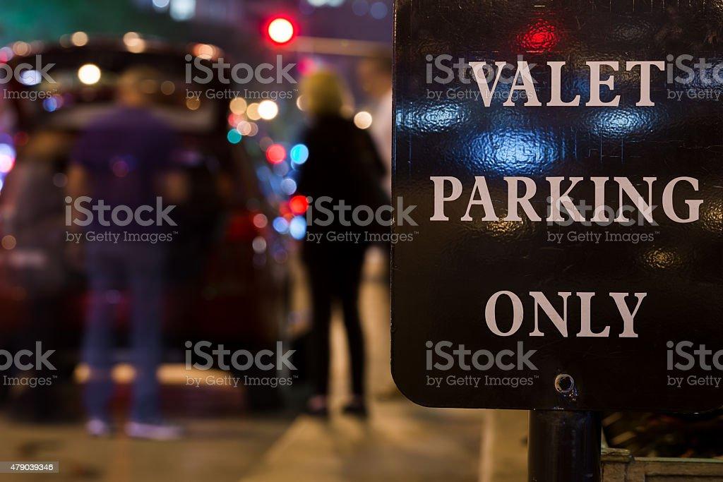 Valet stock photo