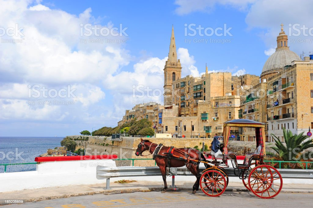 Valetta, Malta stock photo