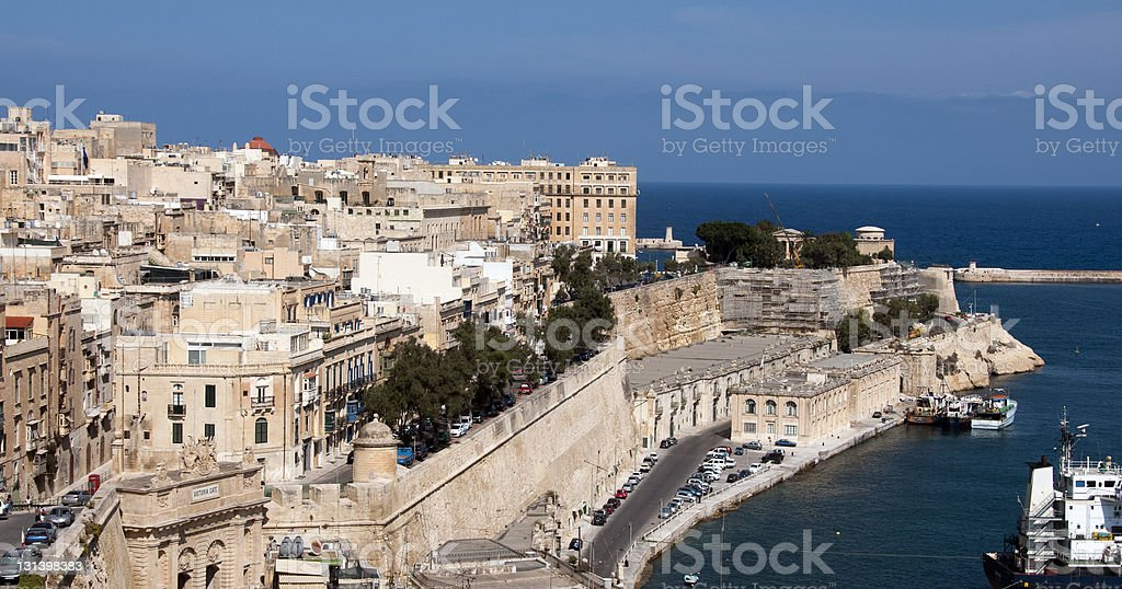 Valetta stock photo