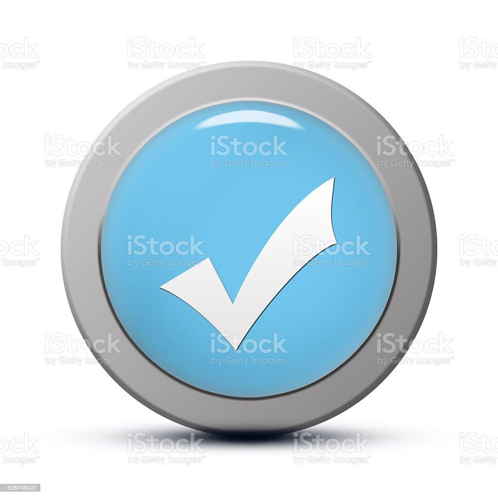 Validate icon stock photo