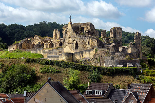 Valkenburg Castle - The Netherlands stock photo