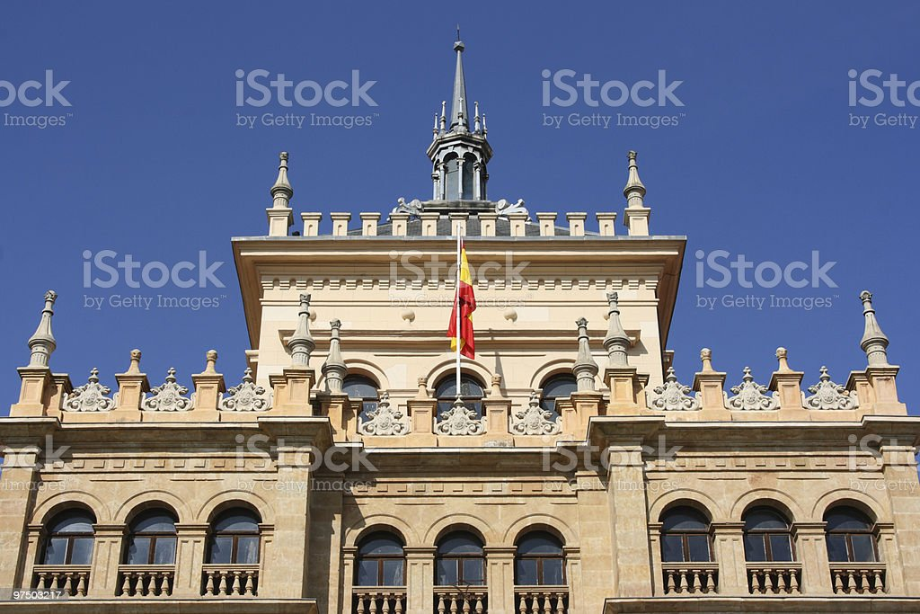 Valladolid royalty-free stock photo