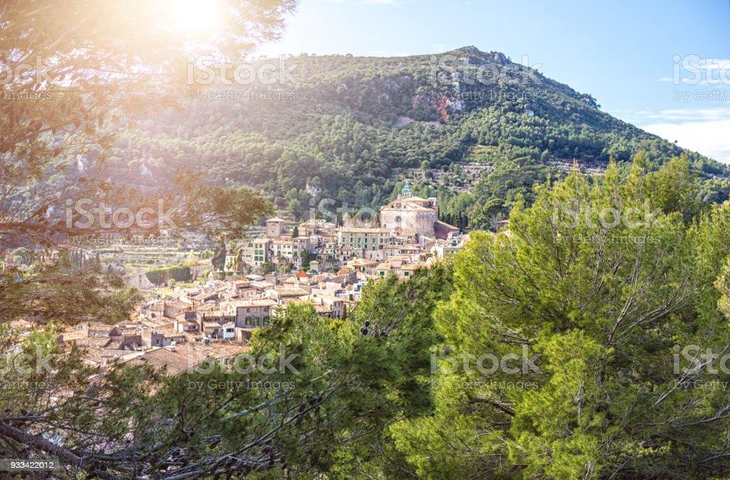 Valldemossa in Majorca stock photo
