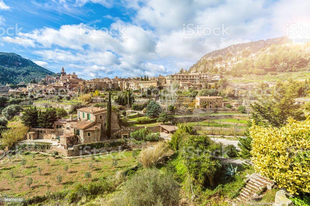 Valldemossa Majorca zbiór zdjęć royalty-free