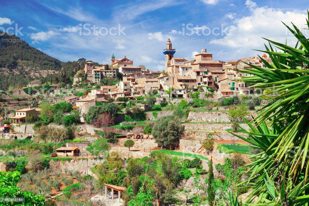 Valldemossa town Mallorca Spain royalty-free stock photo