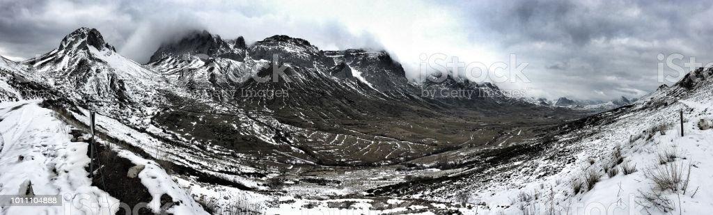 Valle de Arbás - foto de stock
