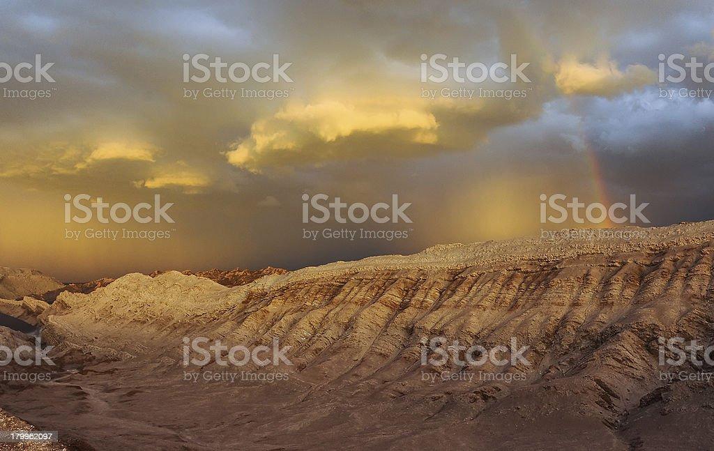 Valle De La Luna Sand Dune royalty-free stock photo