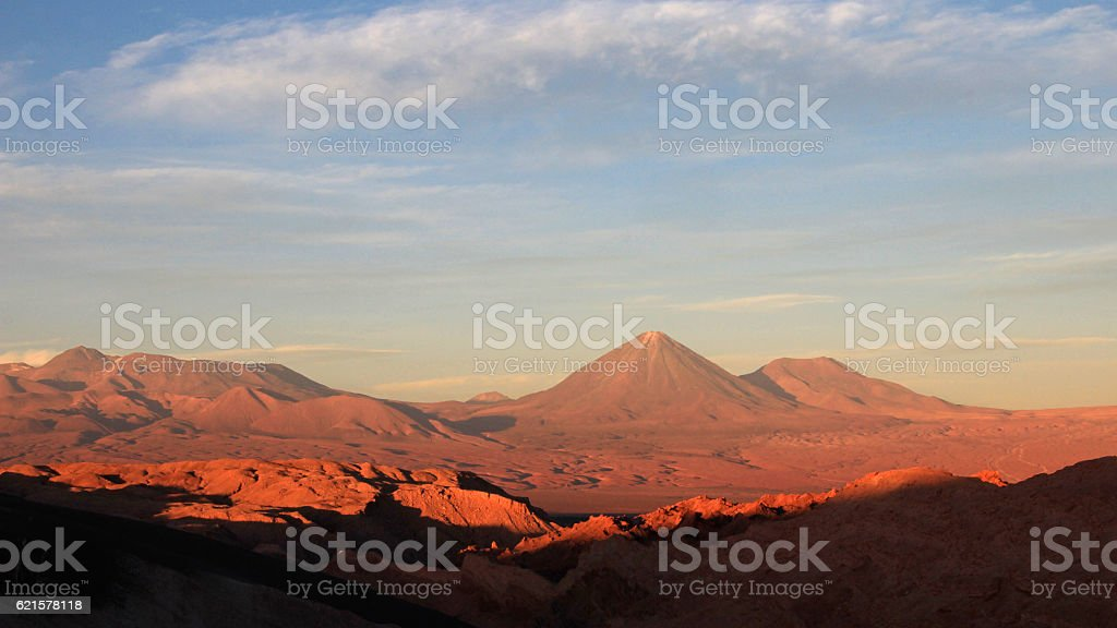 Valle de la Luna, valley of the moon, Atacama desert photo libre de droits