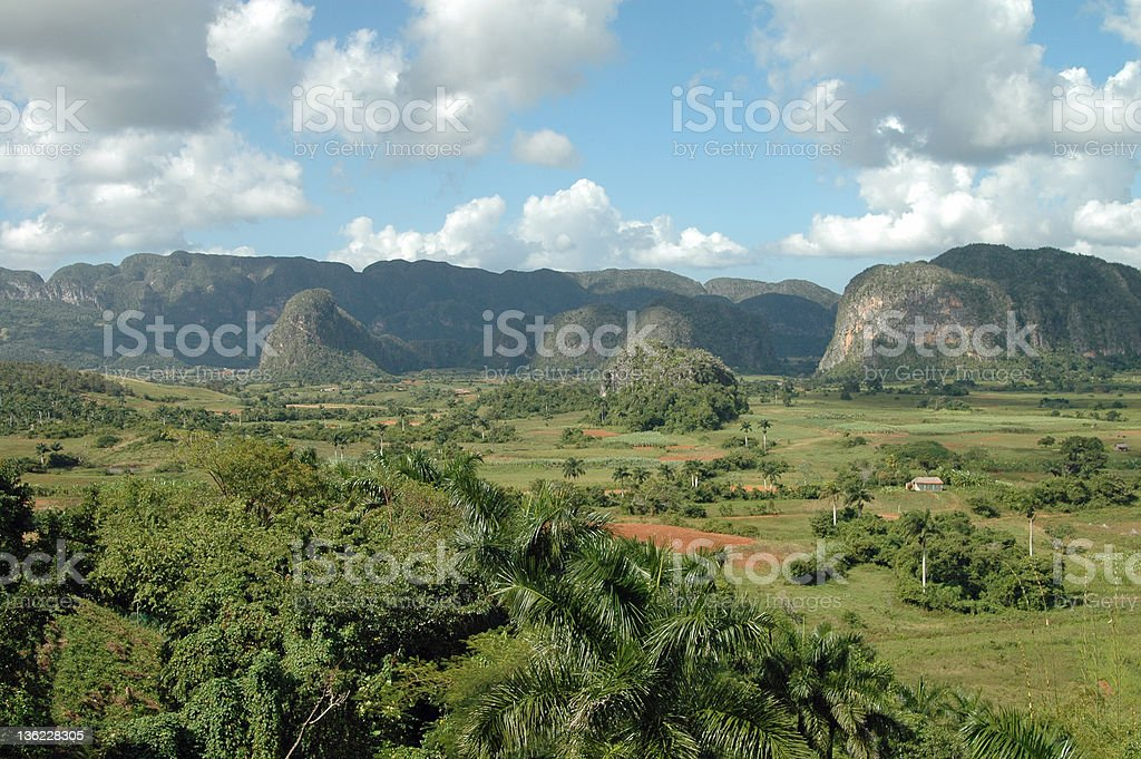 Valle de Vinales, Cuba stock photo