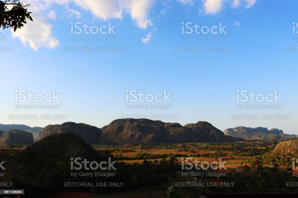 Valle De Vinales stock photo