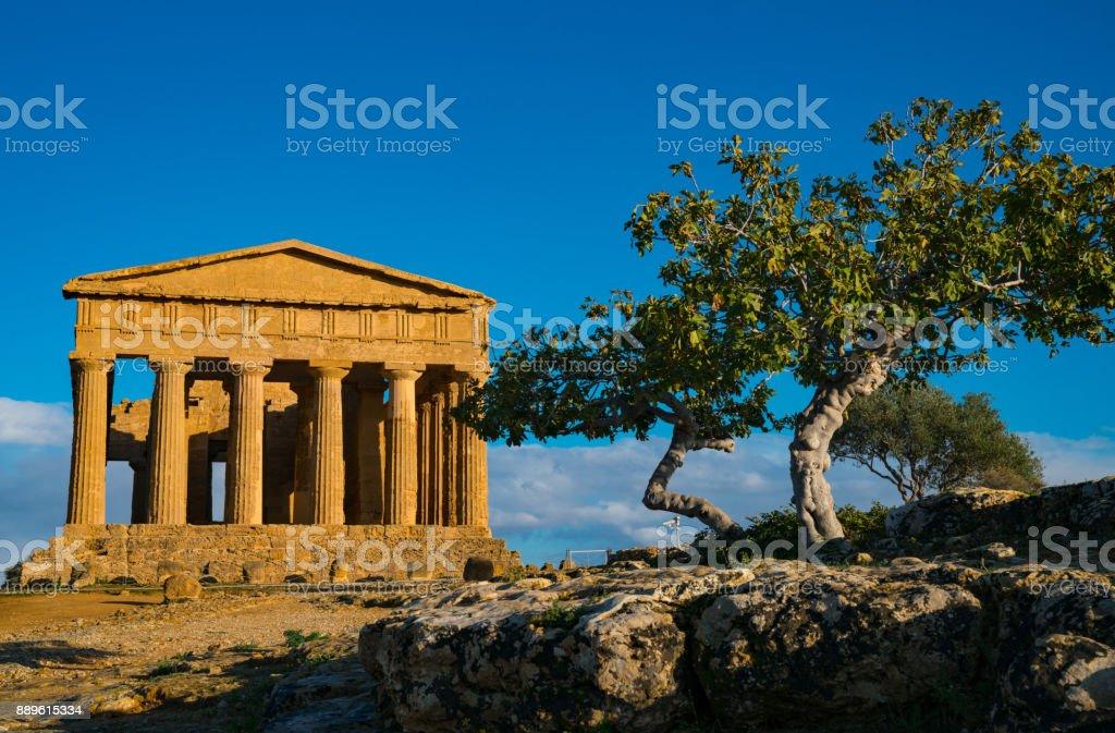 Valle di Templi, Valley of Temples - foto stock