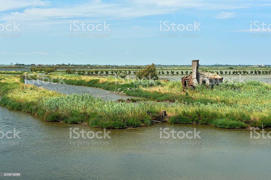 valle Sagreda stock photo