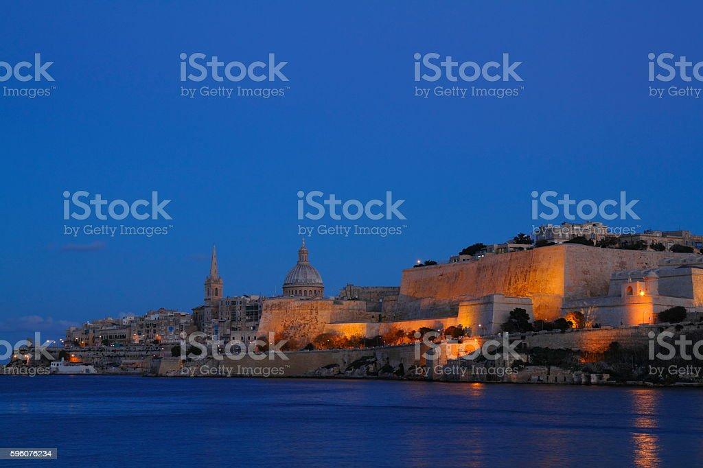 Valletta, Capital of Malta royalty-free stock photo