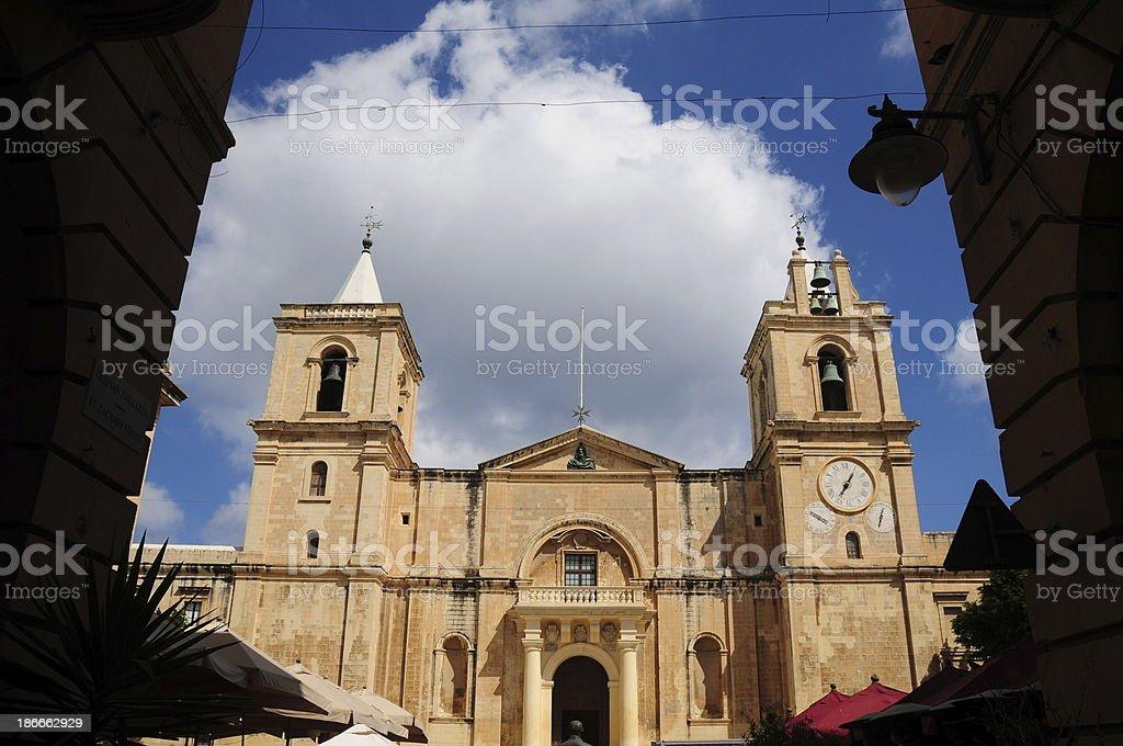 Valletta, Malta. stock photo