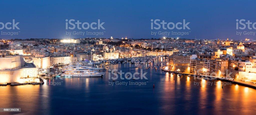 Valletta Waterfront stock photo