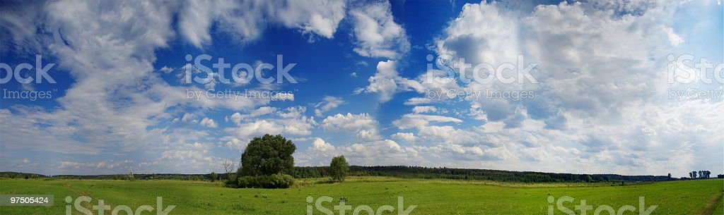 Valley Landscape royalty-free stock photo