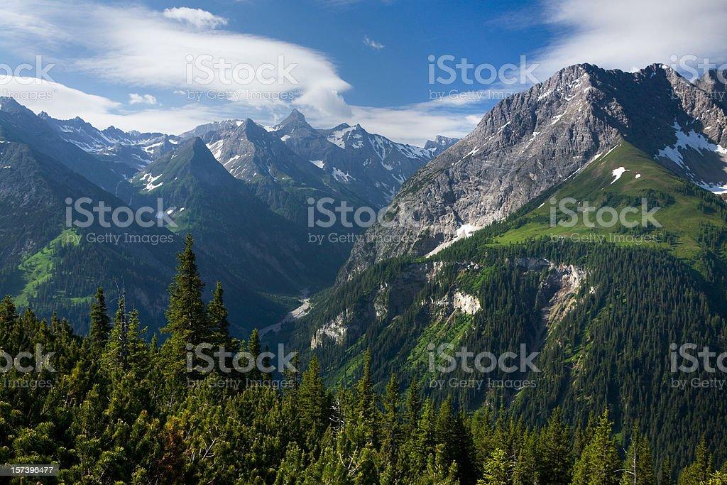 valley madau royalty-free stock photo