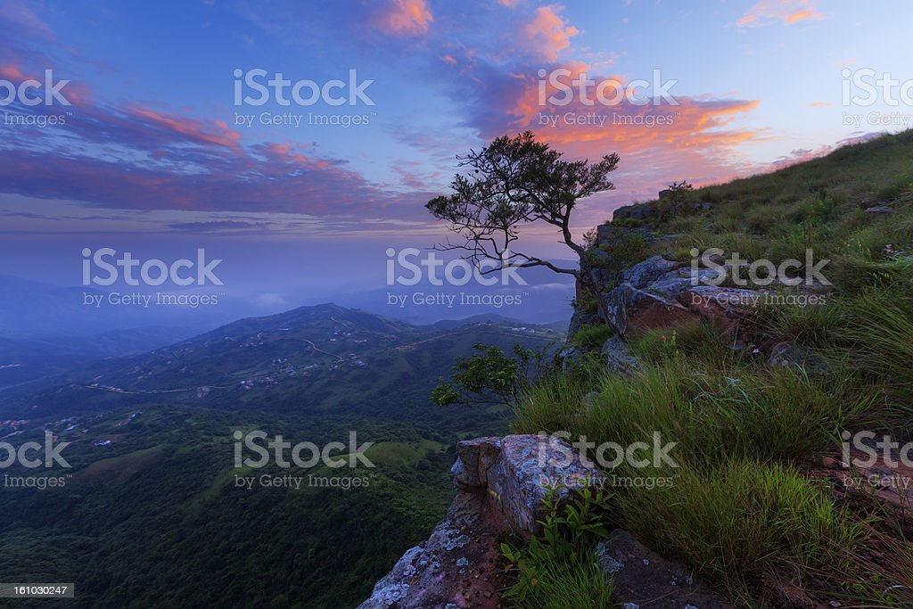 Valley of a Thousand hills stock photo