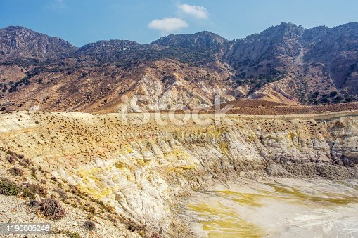 Valley of crater Stefanos, Nisyros island