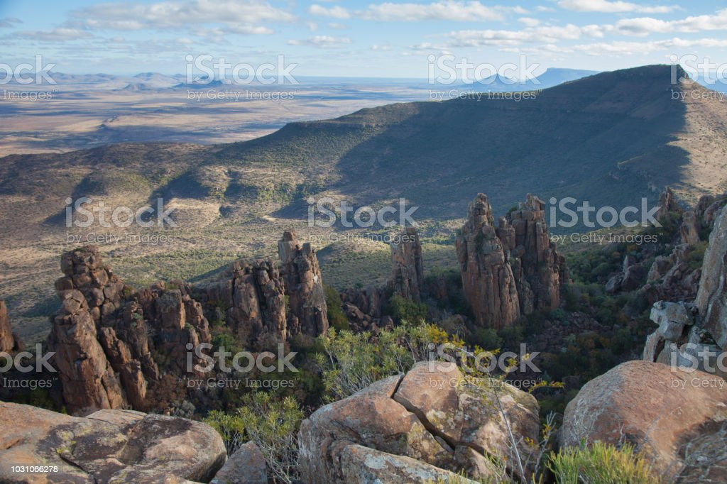 Valley of Desolation, South Africa stock photo